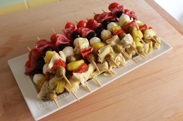Antipasto+Skewers skewers pineapple manchego skewers antipasto skewers ...
